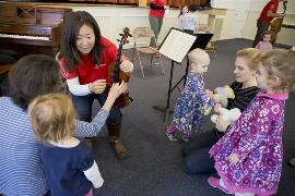 PB&Jam violin teaching with kids